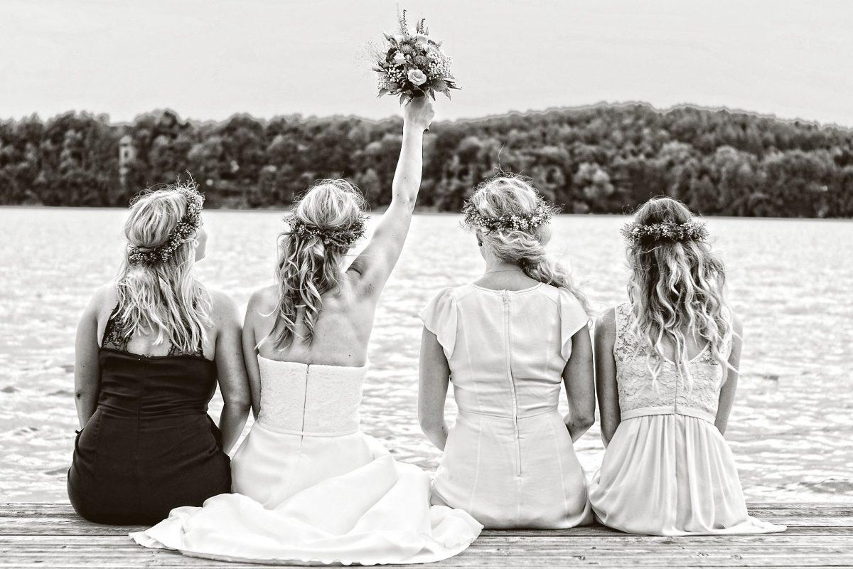 Hochzeitsreportage Heiraten Brandenburg Lychen