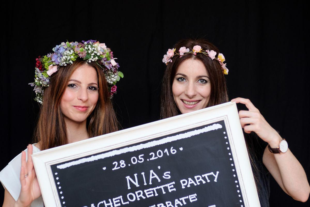 Bachelorette Party Bride to be Fotoshooting