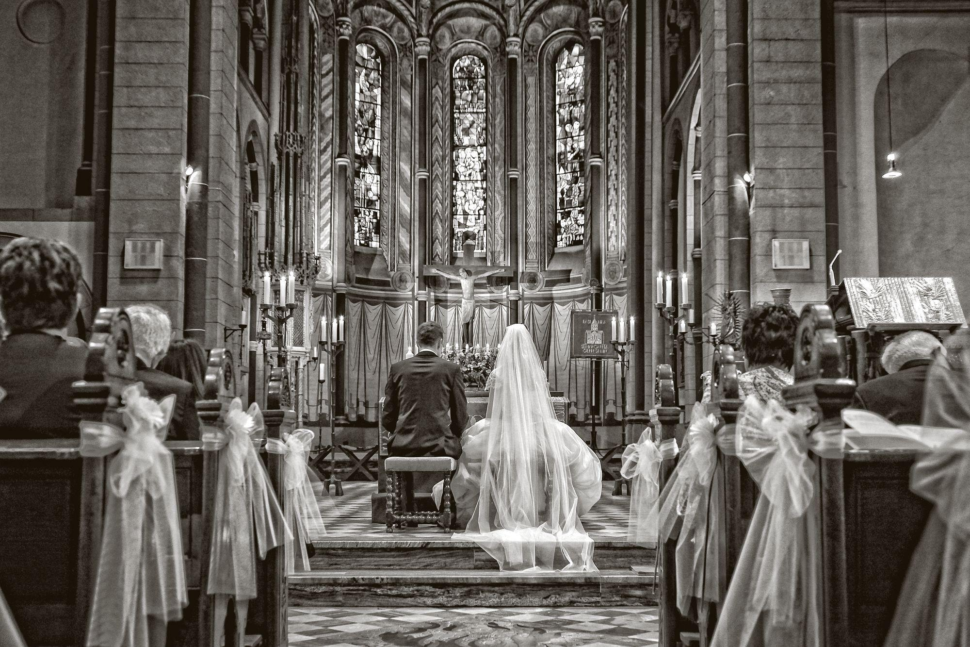 A beautiful raining wedding day